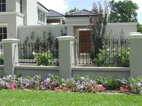 stucco fence ideas stucco and wrought iron fences google search fencing fc garden pinterest wrought