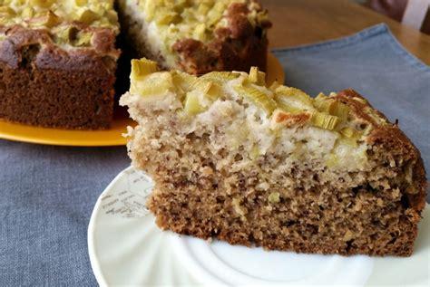 Rabarberu kūka   Pannas un pīrāgi