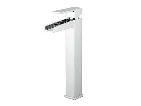 rubinetti a cascata per lavabo barbara a cascata lavabo alto cromo iperceramica