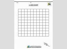 1st Grade Math Charts 1100