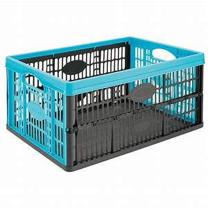 Klappbox Mit Deckel : klappbox hellblau 32 l kaufen bei obi ~ Markanthonyermac.com Haus und Dekorationen