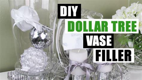 Diy Dollar Tree Glam Vase Filler Dollar Store Diy Glam