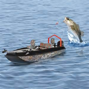 Remote Control Fish Catching Boat - The Green Head