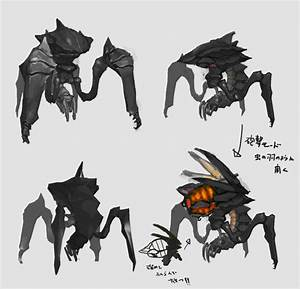 CG Starship Troopers: Invasion Film's Bug Designs ...