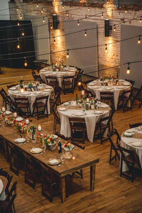 We Love Everything About This Wedding Reception Set Up