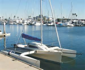 Small Trimaran Sailboats