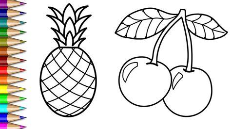 gambar kolase buah buahan