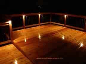 outdoor deck lighting ideas newsonair org