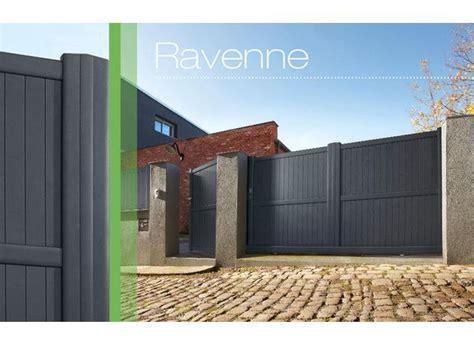 Portail Coulissant Aluminium Ravenne
