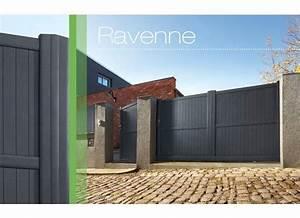 Portail Alu Coulissant 4m : portail coulissant aluminium ravenne ~ Dailycaller-alerts.com Idées de Décoration