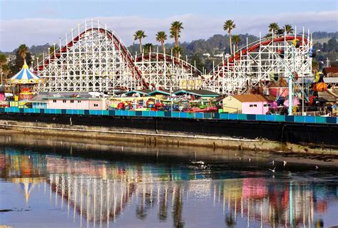 Belmont Park Boardwalk Mission Beach San Diego Socal