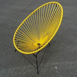 Fauteuil Acapulco Jaune : les 25 meilleures id es de la cat gorie chaise acapulco sur pinterest chaises r tro chaises ~ Teatrodelosmanantiales.com Idées de Décoration