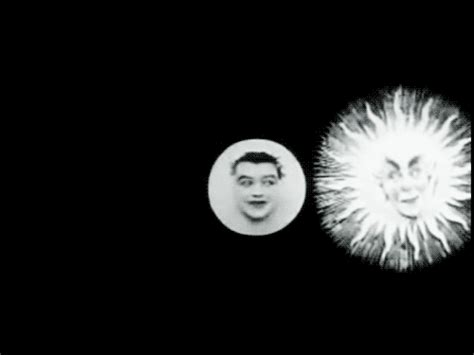 georges melies the eclipse bright wall dark room