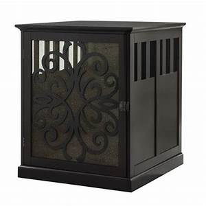 studio 7 interior design diy dog crate end table With black dog crate end table