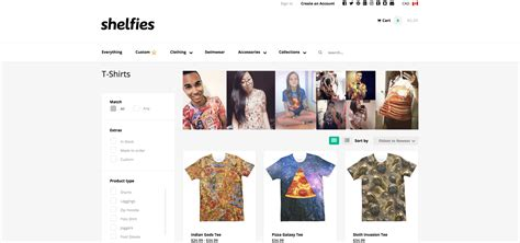 Shopify's 5 Trendiest T-shirt Stores