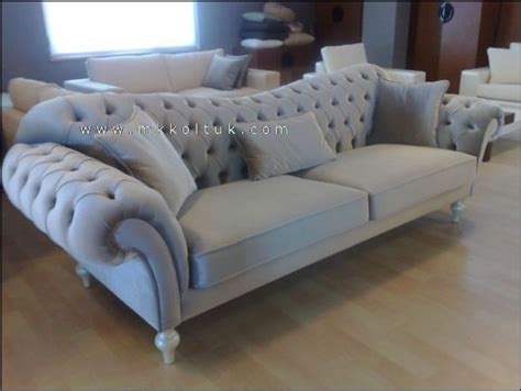 Leather Couch Living Room Ideas by Velvet Chesterfield Seat Sofa In Cream High Quailty