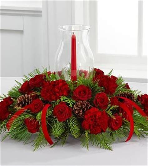 Ftd Winter Wonders Holiday Centerpiece Deluxe