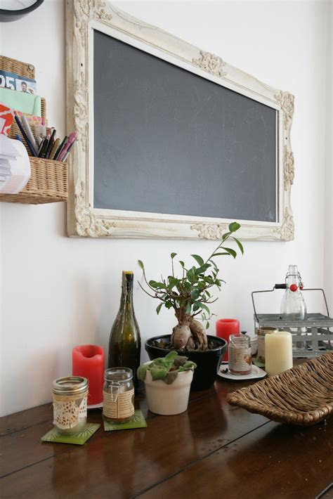 tableau craie cuisine un appartement locatif et inventif déconome
