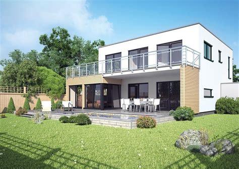 Moderne Häuser Mit überdachter Terrasse by Architektenhaus Stockholm Fertighaus Mit Flachdach Und
