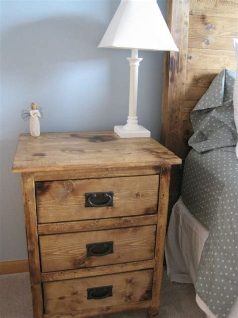 ana white reclaimed wood  bedside tables diy projects