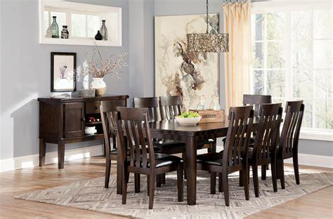Ashley Signature Design Haddigan Casual Dining Room Group