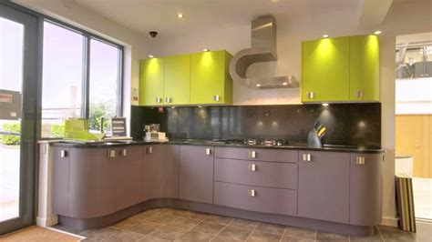 Cabinet Ideas For Small Kitchens - good lime green wall paint color of contemporary kitchen design featuring unfinished brown