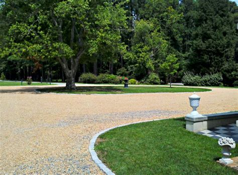 ideas for gravel driveways gravel driveway design landscaping network
