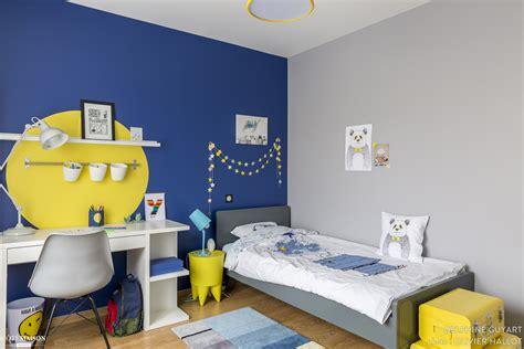 Chambre Garcon Bleu Et Chambre Pour Un Gar 231 On Qui Aime Dessiner Le Bleu Et Le
