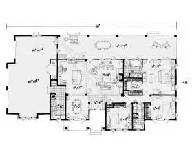 one story house plan one story house plans with open floor plans design basics