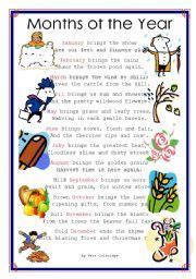 months of the year rhyme maths pinterest the o jays