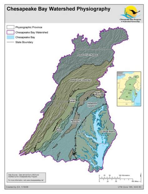 Chesapeake Bay Gis Data by Maps Chesapeake Bay Program