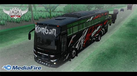 How to download bus skin in bus simulator indonesia. Komban Bus Skin Download For Bus Simulator Indonesia - livery truck anti gosip