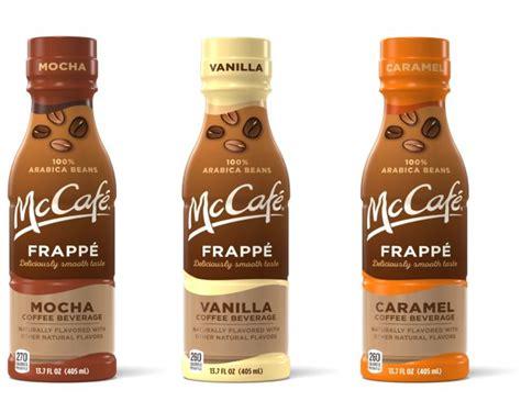 bottled mcdonalds mccafe frappes coming   brand
