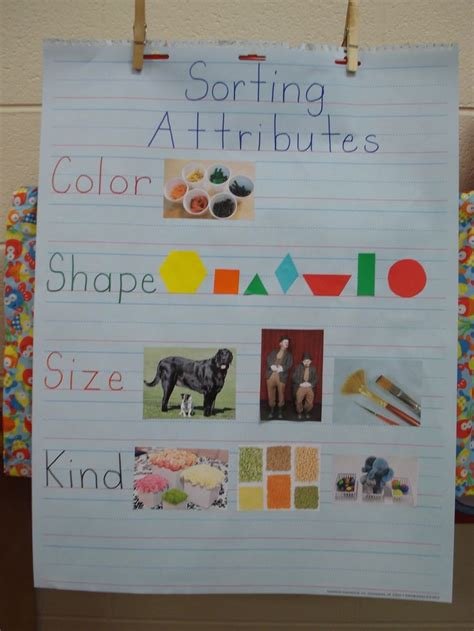 Sorting By Attributes  Google Search  Classroom Ideas  Pinterest  Math, Google And Anchor Charts