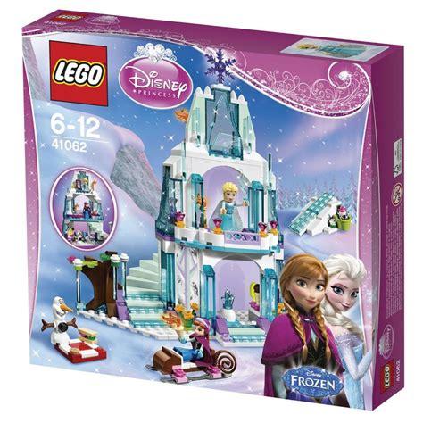 lego frozen elsas sparkling castle olaf lego