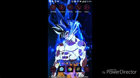 !!!goku Ultra Instinct Live Wallpaper!!! 👉download Link In The Description Below👇