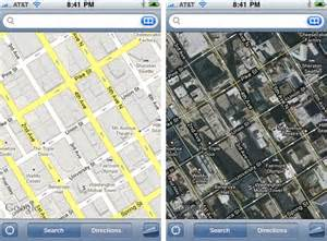 maps view iphone irony you need a map to find view on the iphone