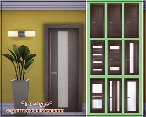 Vivo Porte Doors • Sims 4 Downloads