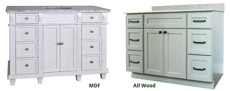 mdf versus wood cabinets mdf vs wood for kitchen cabinet doors home