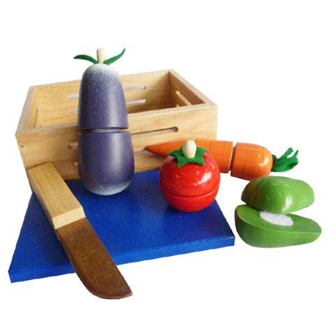 sayur potong pondok buah hatitoko perlengkapan anak mainan kayu tas anak mainan edukatif