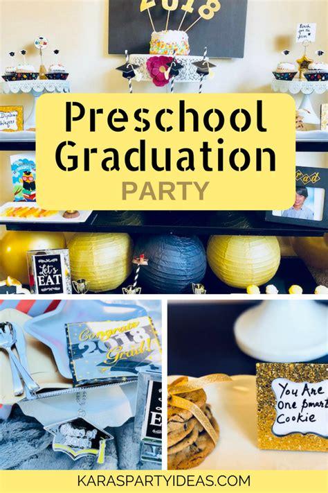 kara s ideas preschool graduation kara s 811 | Preschool Graduation Party via Kara s Party Ideas KarasPartyIdeas.com