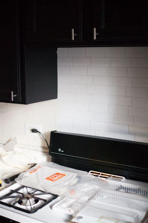 tiles for kitchen backsplash an easy stick on tile backsplash that s for 7694
