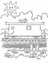 Caboose Coloring Pages Adron Print Mr Kid Charley Cheerful Printable sketch template