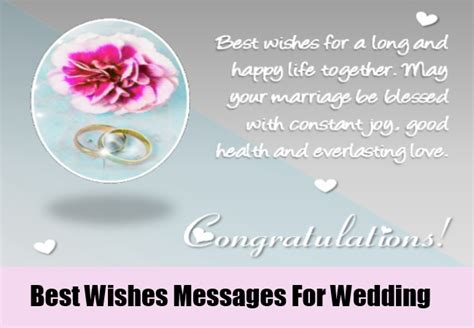 Best Wedding Wishes Messages Congratulations Wedding Messages