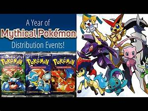 BEST POKEMON NEWS EVER 20th ANNIVERSARY! ALL Mythical ...