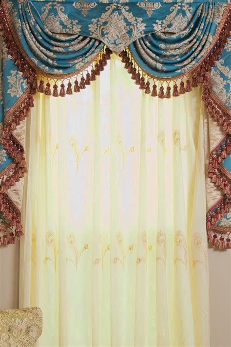 curtains valances and swags curtains with valances and swags window treatments