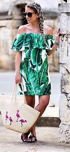 Tenue De Plage Chic : 43 meilleures images du tableau robe tropicale tropical ~ Nature-et-papiers.com Idées de Décoration
