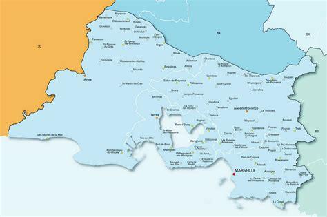 carte des bouches du rh 244 ne