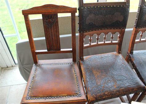 chaise ancienne bois et cuir thesecretconsul com