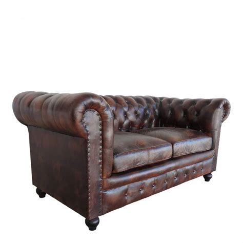 chesterfield sofa dark brown dark brown leather two seater chesterfield sofa brandalley